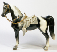 Collecting plastic horses was a better idea!