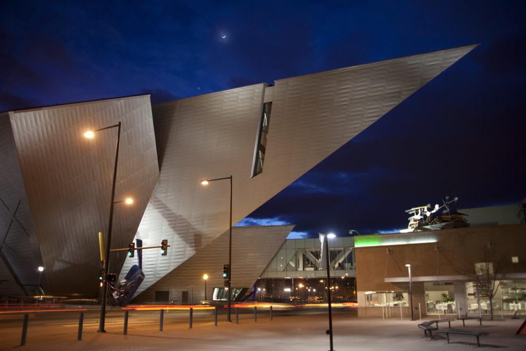 The Denver Art Museum houses over 70,000 works of art.